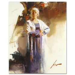 "Pino (1939-2010), ""The Matriarch"" Artist Embellished Limited Edition on Canvas, AP Numbered and Hand"