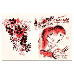 "Marc Chagall (1887-1985), ""Lithographe III"" Original Lithograph, Plate Signed with Letter of Authent"