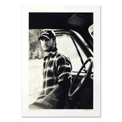 """Rob Shanahan, """"Luke Bryan"""" Hand Signed Limited Edition Giclee with Certificate of Authenticity."""