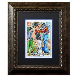 """Patricia Govezensky- Original Watercolor """"Partners Forever"""""""