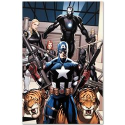"""Marvel Comics """"Ultimate New Ultimates #3"""" Numbered Limited Edition Giclee on Canvas by Frank Cho wit"""