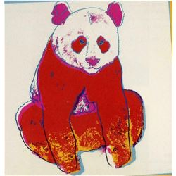 "Andy Warhol- Screenprint in colors ""Giant Panda"""