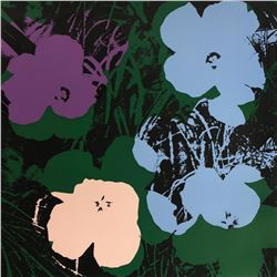 "Andy Warhol- Silk Screen ""Flowers 11.64"""