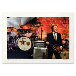"Rob Shanahan, ""Ringo Starr & Paul McCartney"" Hand Signed Limited Edition Giclee with Certificate of"
