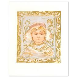 """Martha"" Limited Edition Lithograph by Edna Hibel (1917-2014), Numbered and Hand Signed with Certifi"