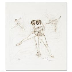 """Pas de Deux"" Limited Edition Lithograph by Edna Hibel (1917-2014), Numbered and Hand Signed with Ce"