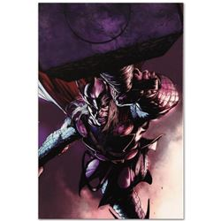 "Marvel Comics ""Thor #7"" Numbered Limited Edition Giclee on Canvas by Marko Djurdjevic with COA."
