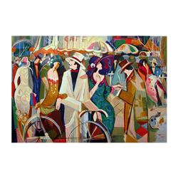 "Isaac Maimon, ""The Compromise"" Limited Edition Serigraph, Numbered and Hand Signed with Letter of Au"