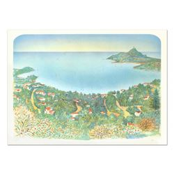 "Rolf Rafflewski, ""Agay"" Limited Edition Lithograph, Numbered and Hand Signed."