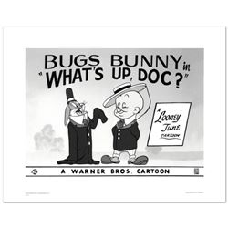 """""""What's Up Doc #2"""" Limited Edition Giclee from Warner Bros., Numbered with Hologram Seal and Certifi"""