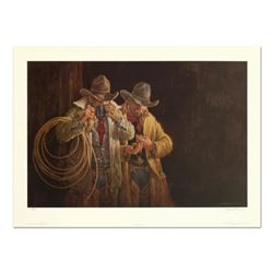 """Larry Fanning (1938-2014), """"5:00 A.M."""" Limited Edition Lithograph, Numbered and Hand Signed with Let"""