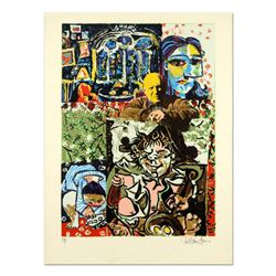 """Paul Blaine Henrie (1932-1999), """"Henri Picasso"""" Limited Edition Serigraph from an AP Edition, Hand S"""