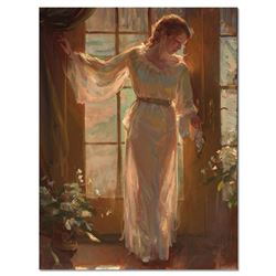 """Dan Gerhartz, """"Winter Garden"""" Limited Edition on Canvas, Numbered and Hand Signed with Letter of Aut"""