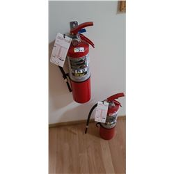 TWO 20LBS FIRE EXTINGUISHERS