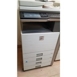 SHARP MX-M283N PHOTOCOPIER TESTED AND A COPY WAS MADE