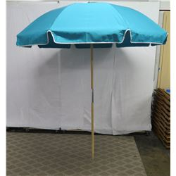 Aqua Canvas Beach Umbrellas