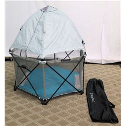 Summer Infant Pop & Play Hexagon Play Yard Tent w/ Carrying Case