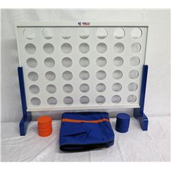 Rally Rorr Giant Connect 4 Game w/ Carrying Case