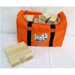 Giant Jenga Game in Orange Carrying Case