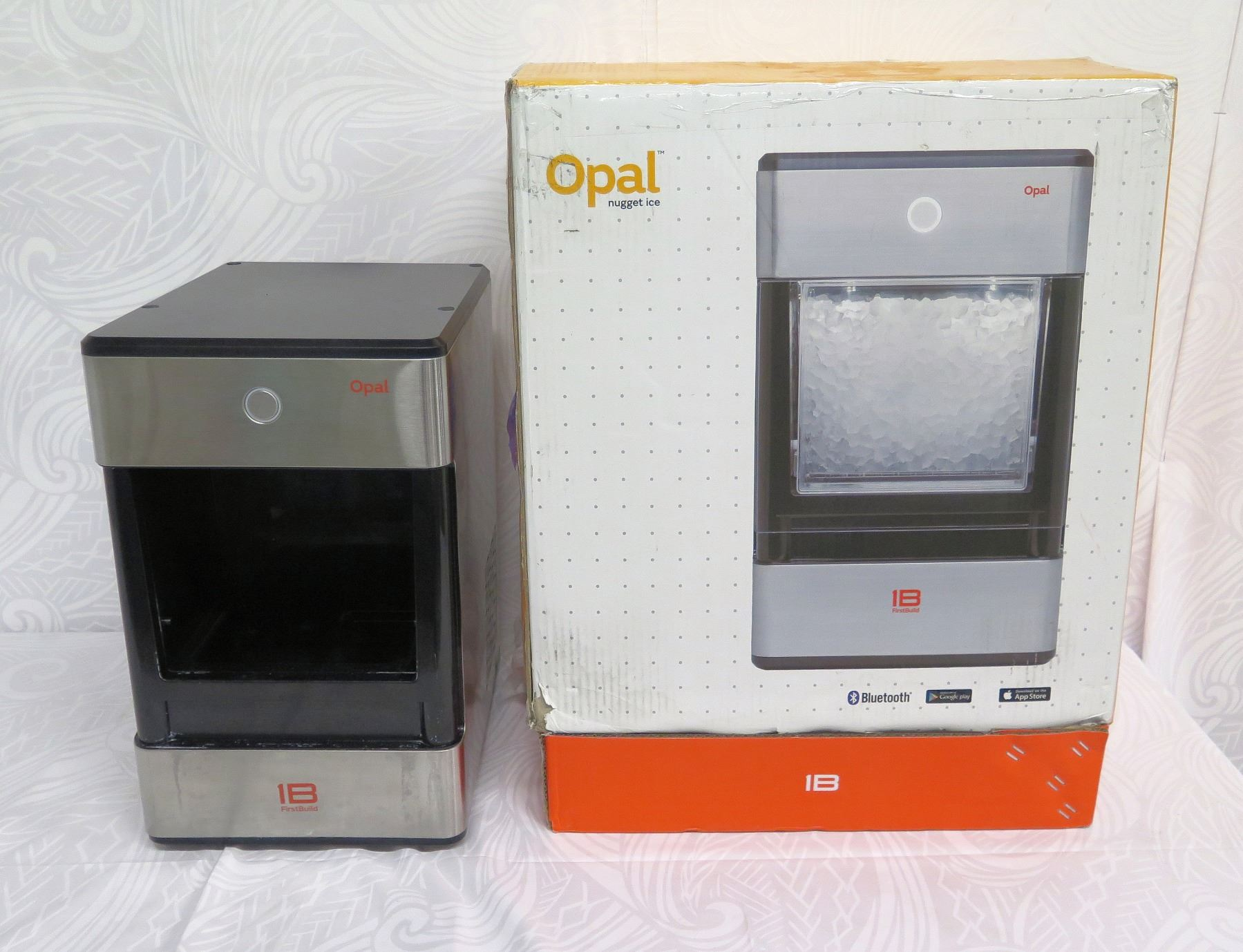 Ge Profile Opal Nugget Bluetooth Ice Maker Ib Firstbuild Missing Ice Tray Oahu Auctions