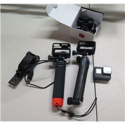 GoPro Camera w/ Selfie Sticks