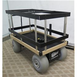 "SandHopper Motorized Beach Cart Wagon w/ 16"" Wheeleez Wheels"