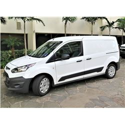 2016 Ford Transit Connect Cargo Van, Approx. 24,000 Miles, Lic. 323TWG (Runs & Drives, See Video)