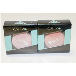 2PK OFRA ASSORTED BLUSHES; ROSE/ WINTER ROSE GLOW