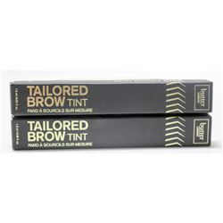 2PK BUTTER LONDON TAILORED BROW TINT; TAUPE/ LIGHT
