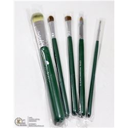 5PK OFRA PROFESSIONAL MAKE UP BRUSHES; #01, #03,
