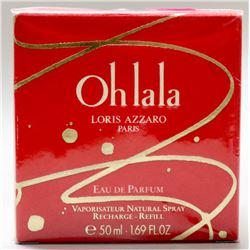 MSRP $110.00- LORIS AZZARO OHLALA 50ML EAU DE