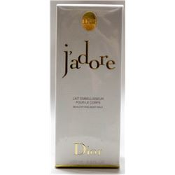 MSRP $170.00- DIOR J'ADORE 200ML BEAUTIFYING BODY