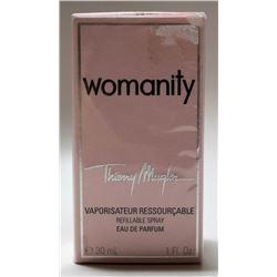 MSRP $55.00- THIERRY MUGLER WOMANITY 30ML EAU DE