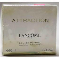 MSRP $115.00- LANCOME PARIS ATTRACTION 50ML EAU DE