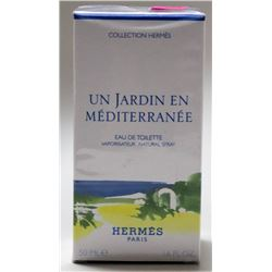 HERMES PARIS UN JARDIN EN MEDITERRANEE 50ML EAU DE