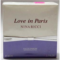 NINA RICCI LOVE IN PARIS 80ML EAU DE PARFUM SPRAY