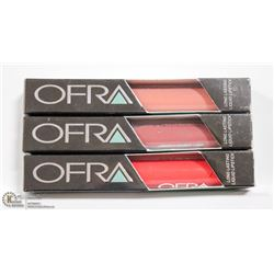 3PK OFRA ASSORTED LONG LASTING LIQUID LIPSTICK