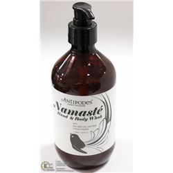 ANTIPODES 500ML NAMASTE HAND & BODY WASH W/