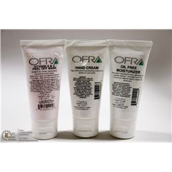 3 PACK OF OFRA VITAMIN A & C PEEL OFF MASK /