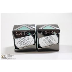 2PK OFRA SEMI PERMANENT EYEBROW GEL; AUBURN