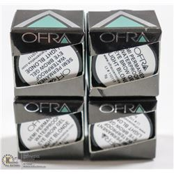 4PK OFRA SEMI PERMANENT EYEBROW GEL; LIGHT BLONDE