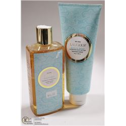 LALICIOUS SUGAR REEF SHOWER GEL & BUBBLE BATH &