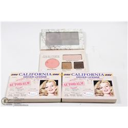 2PK THE BALM COSMETICS FACE PALLET