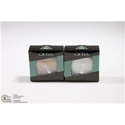 2PK OFRA EYE SHADOW SET; GOLDRUSH & MILLENNIUM