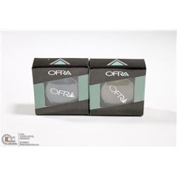 2PK OFRA EYE SHADOW SET; NAVY & KHAKI