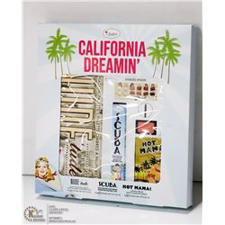 THE BALM COSMETICS CALIFORNIA DREAMIN' PALLET SET