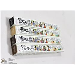 4PK THE BALM COSMETICS MR. WRITE NOW EYE PENCILS;