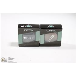 2PK OFRA EYE SHADOW SET; IRON & BOHEMIAN