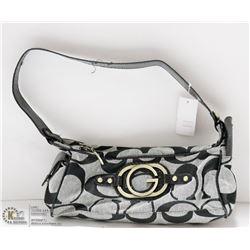 REPLICA DESIGNER HAND BAG - GUESS STYLE BLACK &