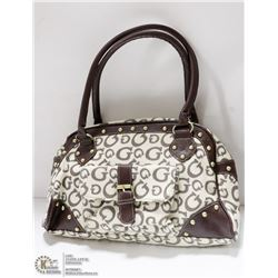 REPLICA DESIGNER HAND BAG - GUESS STYLE BROWN &